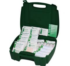 Value HSE Approved First Aid Kit Small, Medium & Large in a Carry Case