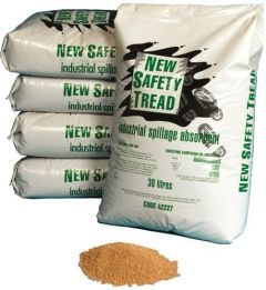 Safety Tread - Industrial Absorbent Granules (30 sacks)
