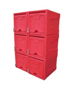 Large Locker with Keyed Handle (Various Colours)