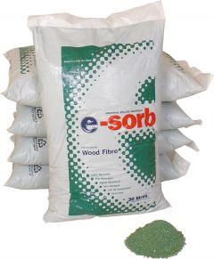 80L E-sorb Fire Retardant Recycled Wood Fibre 27 per Pallet