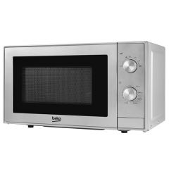 Beko 700 Watt Compact Microwave - Silver