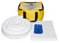 35 Litre Oil & Fuel Spill Kit with Cube Bag