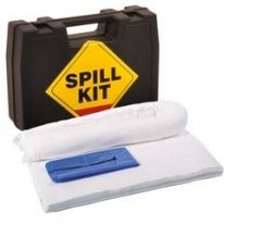 15 Litre Oil & Fuel Spill Kit in a Hard Carry Case