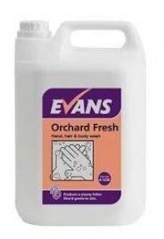 Evans 5 Litre Orchard Fresh Luxury Soap