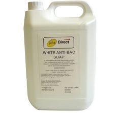 PHS White Anti-bacterial Liquid Soap 5 Litre