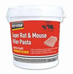 Super Rat & Mouse Killer Pasta 10x10g Sachets per Tub