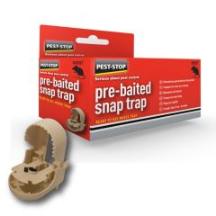 Pre-Baited Snap Trap Single Boxed