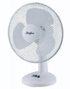 """12"""" Stirflow Desk Fan with 3 Speed Settings"""