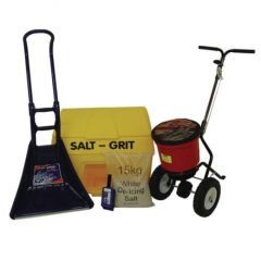 Small Business Winter Kit (inc. 10 x 15kg White Rock Salt)