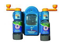 Wallace Cameron Blue Eyewash Station Fast Semi-Automatic System