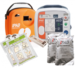 IPAD SP1 AED Fully Auto Defibrillator Easy Switch Paediatric