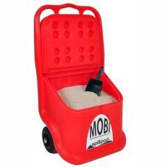 Spillpod® MOBI 1: 60L Cart, Rock Salt, Grit or Absorbent Granules