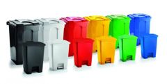 Trojan 60 Litre Plastic Step Pedal Bins (Various Colours)