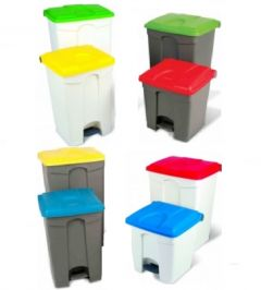 Step On Container Pedal Bin 90 Litre (Various Colours)
