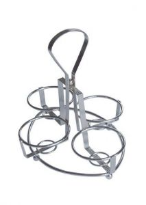 Condiment Relish Rack with 4 Holders