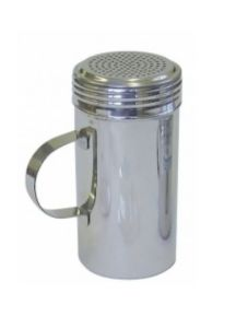 Stainless Steel Dredger with Handle 16z  (Pack of 12)