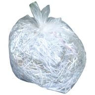 Medium Density Clear Square Bin Liners Case of 500