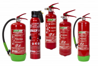 Firechief Lith-Ex Extinguisher for Lithium Fires - Various Sizes