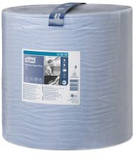 Tork W1 Wiping Paper Plus Blue Roll 2ply 510m - 130050