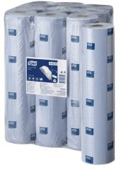 Tork Advanced Couch Roll 2Ply Blue 55M (Case of 9) - 152250