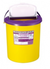 Purple Lid Sharps XA Bin 22 Litre (Case of 7)