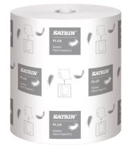 Katrin Plus System White Roll Towel 2ply (Case of 6) - 460058