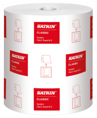 Katrin Classic System White M2 Towel Roll 2ply (Case of 6) - 460102