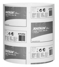 Katrin Plus White Coreless M Roll 1ply 280m (Case of 6) - 475358