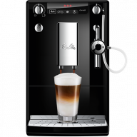 Melitta Caffeo Solo Deluce Moulded Coffee Machine in Black