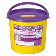 Purple Lid Sharps Bin 7 Litre (Case of 40)