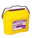 Purple Lid Sharps Bin 8.5 Litre (Case of 15)