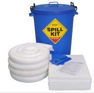 90 Litre Oil & Fuel Spill Kit Blue