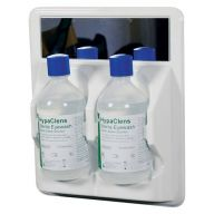 HypaClens Basic Eyewash Station with 2x500ml Eyewash