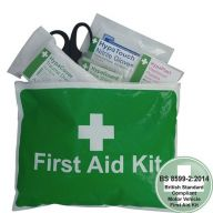 Value Motor Vehicle Small First Aid Kit In Vinyl Zipper Wallet