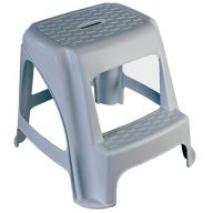 Plastic Two Tread Step Up Stool