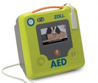 Zoll AED 3® Fully Automatic Defibrillator & FREE FIRST AID MANUAL