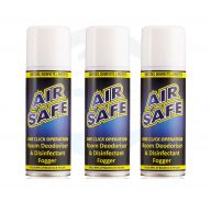 Airsafe Alcohol Based Room Sanitising Spray Fogger x 3 Cans