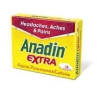 Anadin Extra - 16 Tablets (Case of 12)