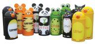 Animal Litter Bins 42 Litres (Set of 4)