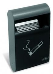 Wall Mounted Ashtray 1.5L Dark Grey
