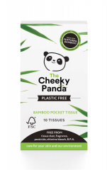 Cheeky Panda 100% Bamboo Pocket Tissues