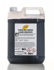 PHS Hygienic Multi Surface Cleaner Concentrate 5L (Case of 2)