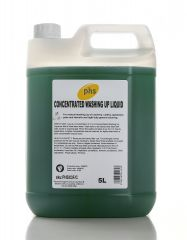 PHS Concentrated Washing Up Liquid 5L (Case of 2)