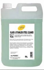 PHS Glass and Stainless Steel Cleaner 5L (Case of 2)