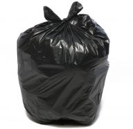 Galileo Black Medium Duty Refuse Sacks (Case of 200)