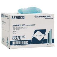 WypAll X60 Cloth Brag Box 200 Wipes 8370