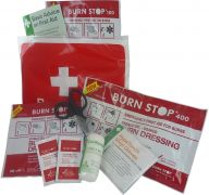 Burn Stop Burns Kit With Wallet in Small, Medium & Large Size- Large