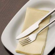 40cm 3ply Buttermilk Dinner Napkins (Case of 1000)