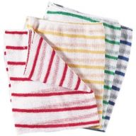 Robert Scott Hygiene Dishcloths in 4 Colours (Pack of 10)