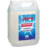Cleanline Cabinet Glass Wash 5 Litre